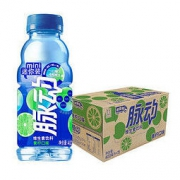 Mizone 脉动 青柠口味 400ML*15瓶 迷你便携小瓶维C果汁水低糖维生素运动饮料