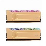 UNIC MEMORY 紫光存储 紫光内存(UniIC)16GB(8G×2)套装 DDR4 3600台式机内存条 RGB灯条 琉璃黄金斩系列 疾速超频