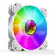 JONSBO 乔思伯 FR901幻彩定速 白色版 ARGB 机箱风扇¥30.00 6.7折 比上一次爆料降低 ¥15