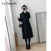 La Chapelle 拉夏贝尔   女士毛呢大衣  914613450
