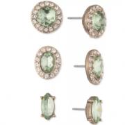 Givenchy 纪梵希 水晶耳钉3件套