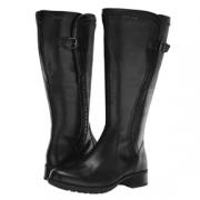 Rockport乐步 Copley Tall Wide Calf 女士防水皮靴$66.15(折¥449.82) 2.8折