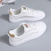 PLUS会员:DAPHNE 达芙妮低帮小白鞋