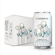 PLUS会员:Yocharm 云臣 百香果味 气泡苏打水 330ml*24罐*3件74.35元+运费(单价24.78元/件)