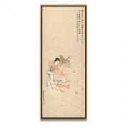 Artron 雅昌 梅兰芳国画|原作版画《天女散花》80x31cm 纸本 流光金框