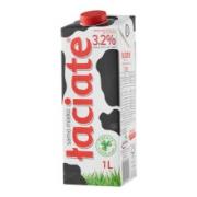 PLUS会员:Laciate 全脂牛奶 1L*12盒*4件