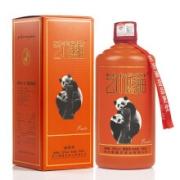 PLUS会员:艺术熊猫 53度 酱香型白酒 500ml*2瓶