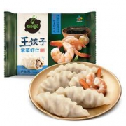 PLUS会员:bibigo 必品阁 紫菜虾仁王饺子 350g*5件