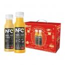 88VIP:农夫山泉 100%NFC果汁(橙汁+苹果香蕉汁) 300ml*12瓶*2件111.45元包邮、合55.73元/件(双重优惠)