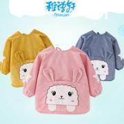 Zyuxuan 稚语轩 宝宝水晶条防水罩衣¥12.80 2.6折