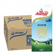 88VIP:Anchor 安佳 全脂牛奶 1L*12盒88.1元包邮(多重优惠)