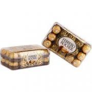 FERRERO ROCHER 费列罗 金莎T30榛果威化糖果巧克力礼盒 30粒*3件