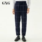 GXG 174102026 男士休闲格子裤
