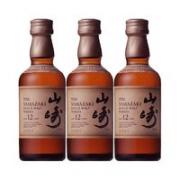 SUNTORY 三得利 山崎 12年威士忌 50ml*3瓶¥293.55 2.6折