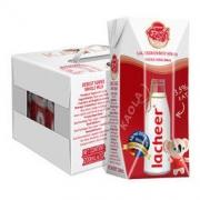 Lacheer 兰雀 全脂纯牛奶 200ml*12盒12元包税包邮(下单立减)