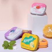 kissport 无糖薄荷糖 口香糖 香口糖16g/盒装*619.95元(需用券,合3.3元/件)