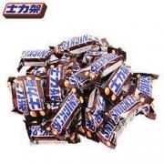 SNICKERS 士力架 花生夹心巧克力 20g*10条装10.9元包邮(需拼购)
