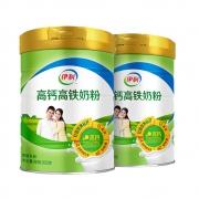 88VIP: 伊利 成人高铁高钙奶粉 900g*2罐装
