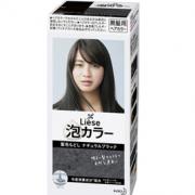 Kao 花王 liese prettia系列泡沫染发剂 #黑色 108ml¥29.67 5.0折 比上一次爆料降低 ¥1.66