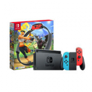 Nintendo 任天堂 国行 Switch游戏主机 续航增强版《健身环大冒险》套装