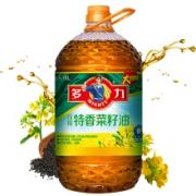 MIGHTY 多力 压榨特香菜籽油 6.18L152.83元包邮,需用券(折合76.42元 /件)