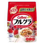88VIP:Calbee 卡乐比 水果麦片 700g*2袋82.58元,合41.2元/件