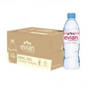 88VIP:Evian 依云 天然矿泉水 500ml*24瓶