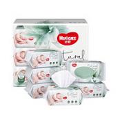 HUGGIES 好奇 铂金装 婴儿湿巾 80抽*6包¥37.20 3.7折 比上一次爆料降低 ¥38.45