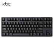 iKBC W200 87键 2.4G无线机械键盘 黑色 Cherry红轴