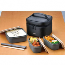 THERMOS 膳魔师 饭盒6件套装 1.8L DJF-1800BK¥166.35 比上一次爆料降低 ¥28.22