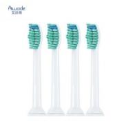 PLUS会员: PHILIPS 飞利浦 电动牙刷头 通用标准款 4支装 *2件