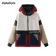 AlphaStyle  AFH-SE-3081 男士连帽毛皮外套¥398.00 0.9折