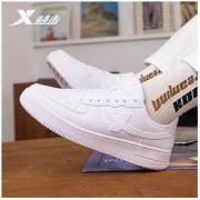 XTEP 特步 情侣款休闲小白鞋