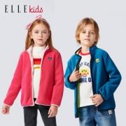 ELLE Kids 男女童 摇粒绒夹克外套69元包邮