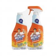 88VIP:Mr Muscle 威猛先生 厨房重油污清洁剂 柑橘味 455g*2瓶16.75元+运费