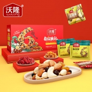 88VIP:wolong 沃隆 每日果礼礼盒 混合口味 770g56.03元包邮(双重优惠)