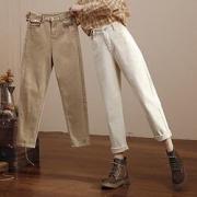 HIPPIE MISS 嬉皮少女 女士高腰牛仔裤 B95320G1B290元包邮(需用券)
