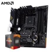ASUS 华硕 TUF GAMING B550M-PLUS 重炮手 主板 + AMD 锐龙 R5-5600X CPU处理器 板U套装