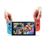 88vip:Nintendo 任天堂 香港直发 Switch掌上游戏机 NS 红蓝手柄续航增强版1899元包邮(需用券)