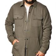 M码!Timberland PRO 添柏岚 Mill River 男士抓绒衬衫夹克A1VCQ  直邮含税到手¥325.49¥298.34