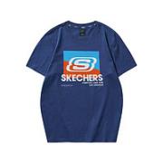 SKECHERS 斯凯奇 女士短袖t恤¥47.00 比上一次爆料降低 ¥15.6
