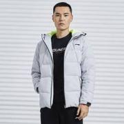 LI-NING 李宁 AYMQ055 男士短款羽绒服288元包邮(前4小时送定金)