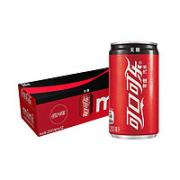 Coca-Cola 可口可乐 碳酸饮料迷你罐 mini200mlx12罐¥15.52 5.8折 比上一次爆料降低 ¥4.4
