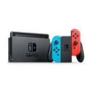 Nintendo 任天堂 海外版 Switch游戏主机 续航增强版 红蓝