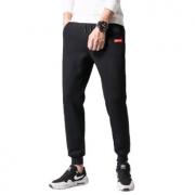 PLUS会员:凡客诚品 男士2021冬季新款加绒保暖休闲裤  黑色54元