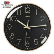 TIMESS P30-1 石英挂钟 10英寸¥63.00 2.4折 比上一次爆料降低 ¥5