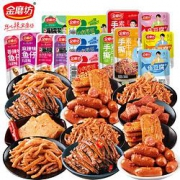 PLUS会员:金磨坊 好吃的零食小吃 7种60包*2件