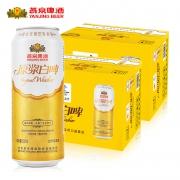 PLUS会员:YANJING BEER 燕京啤酒 12度原浆白啤 500ml*12听*2箱148元包邮(多重优惠)