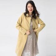 双11预售:GLORIA  歌莉娅  女士翻领直身型外套  198S6E370228元包邮(需50元定金)