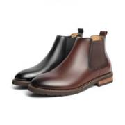 BeLLE 百丽 A0595DD1 休闲简约短靴¥395.55 2.8折 比上一次爆料降低 ¥23.45